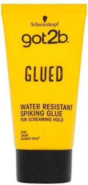 Schwarzkopf Got2b Glued Water Resistant Spiking Glue 150ml Hair Gel