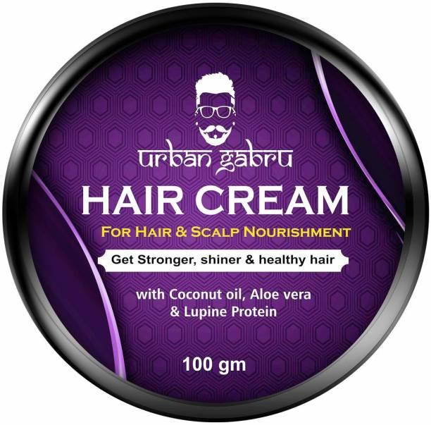 urbangabru Hair cream for medium hold & hair and scalp nourishment - daily use Hair Cream