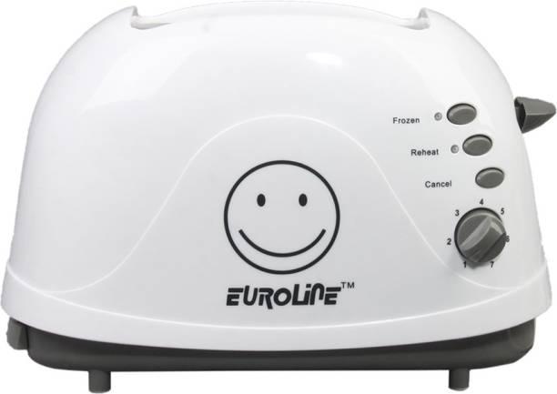 EUROLINE EL-820 Pop-up Toaster (White) 700 W Pop Up Toaster
