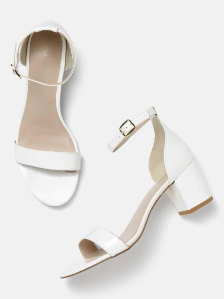 MAST & HARBOUR Women White Heels