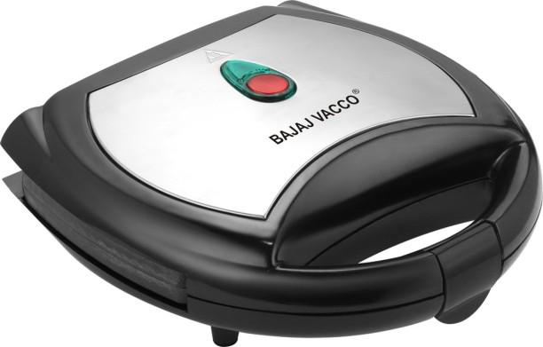 Bajaj Majesty Vacco Grill Sandwich Maker (Silver)