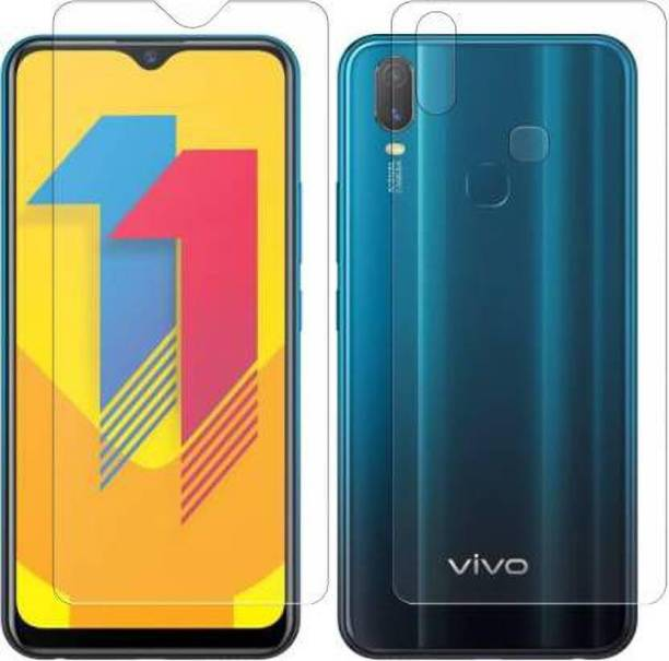 PR SMART Front and Back Tempered Glass for Vivo y11