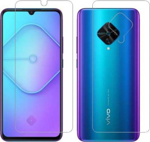 PR SMART Front and Back Tempered Glass for Vivo S1 Pro