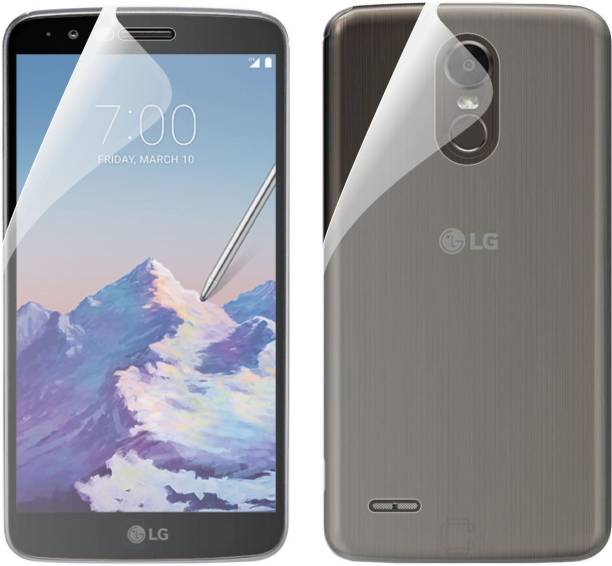 Case Creation Front and Back Screen Guard for LG K10 Pro (M400DK)