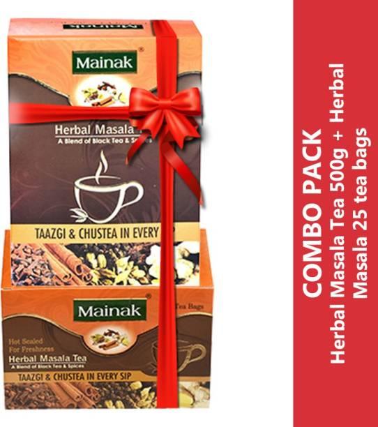 Mainak MHMTB_500_25 Ginger Masala Tea Box