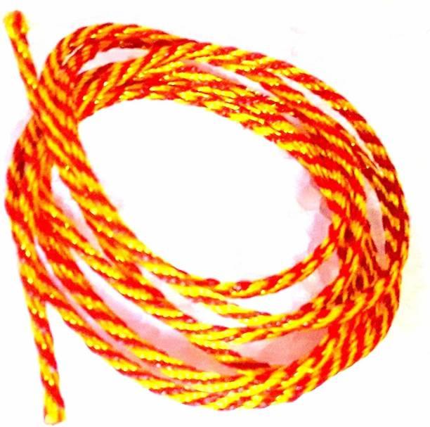 ECOF Mauli Kalawa Raksha Sutra Red Silk Wrist Thread Band 10 Meter Thread