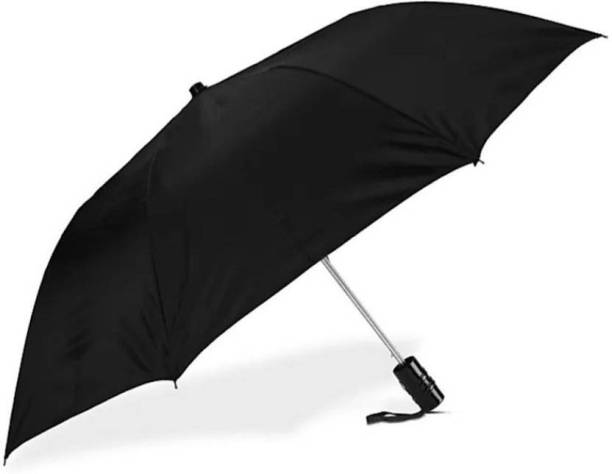 Trenz 2 Fold Auto Open Regular Umbrella (Black) Umbrella