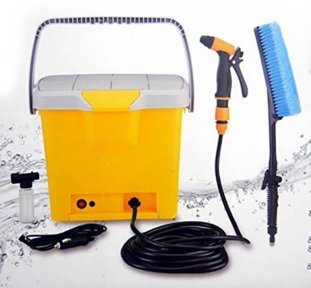 ERFOLG High Quality Portable Mini High pressure car washing machine car washer kit car Jet Spray Easy to operate and portable 12V 16L Tank High Pressure Washer Pressure Washer