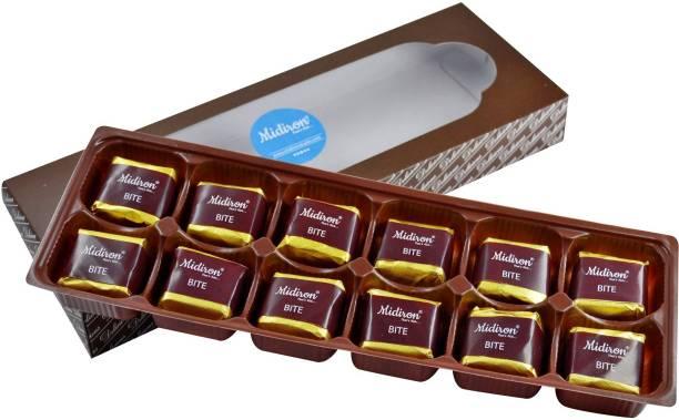 Midiron Handmade Milk Chocolate Box (12 Chocolate) Brittles