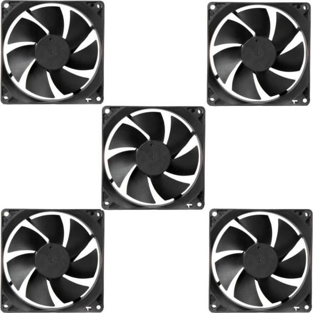 Mexico PACK OF 5 Cabinet Fan 3-Inch Square 12 V DC CPU Cooling fan Cooler