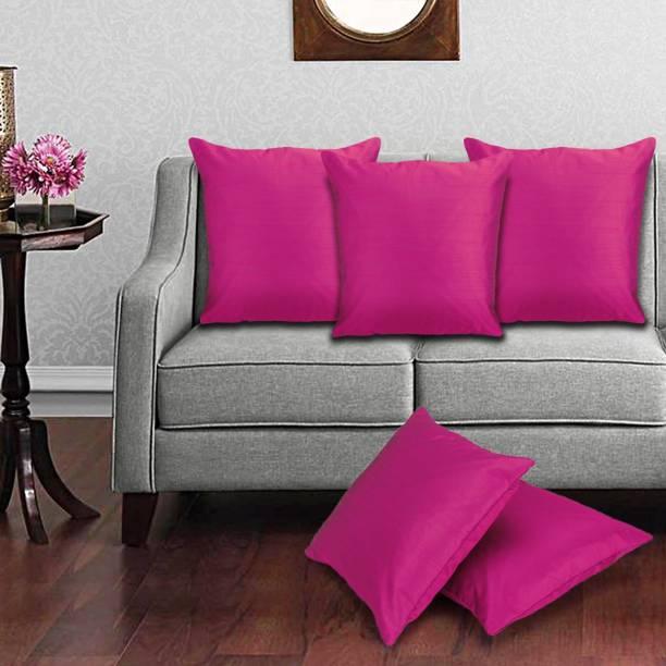 Desi Kapda Plain Cushions & Pillows Cover