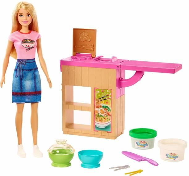 BARBIE Career Noodle Maker Doll & Playset