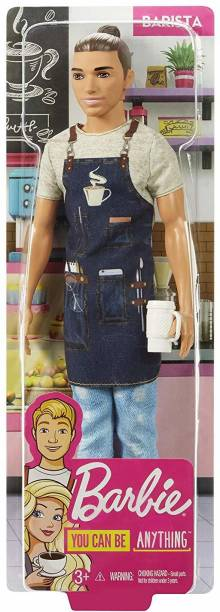 BARBIE Career Ken Barista Doll