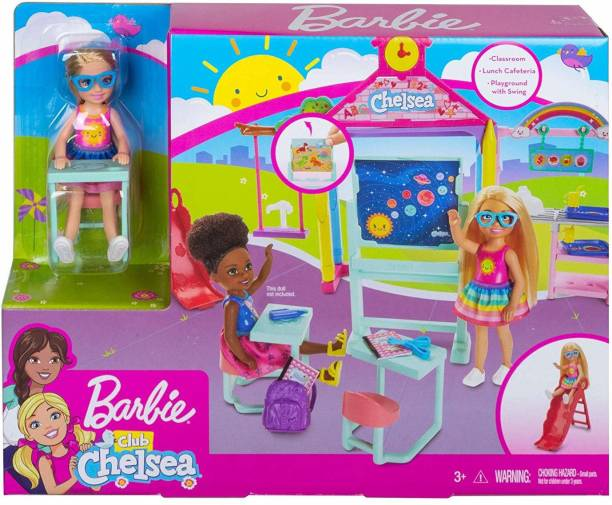 BARBIE Club Chelsea School Playset