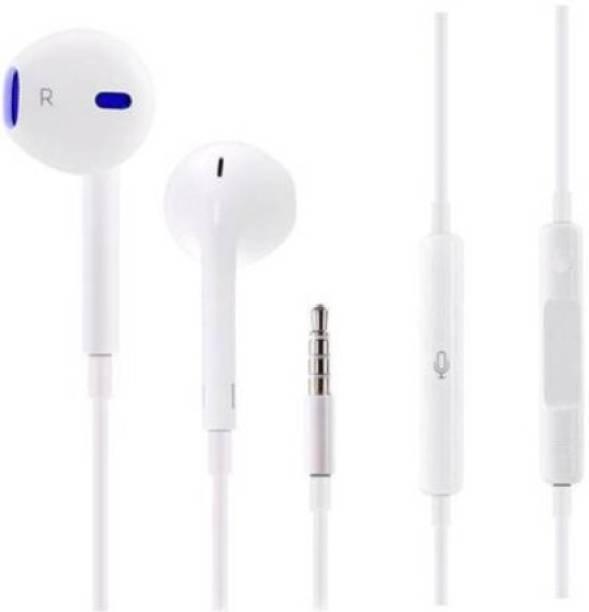 AUDONIC Earphones with mic for v5,V5S,V7 Plus,V9 Youth,V11 Pro,V15 Pro,V17 Pro,V19 Pro,X20,Y12,Y17,Y95,Y69,Y91 i,Y81,Y83 Pro,U10 b for All Smartphones Wired Headset