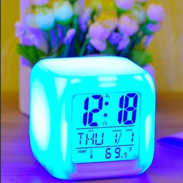 LJPBA Digital Multicolor Clock