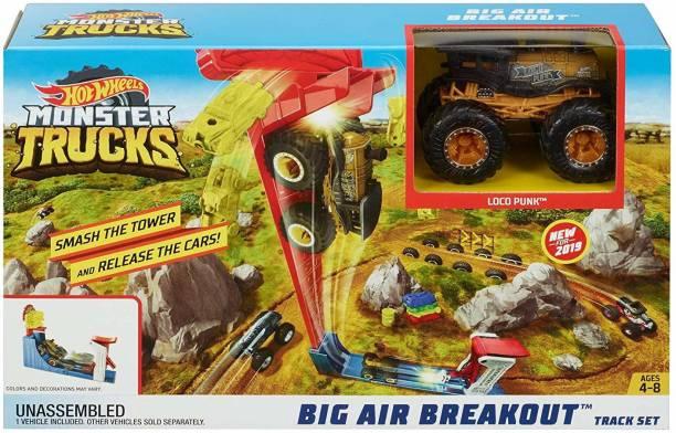 HOT WHEELS Monster Truck Big Air Breakout Play Set