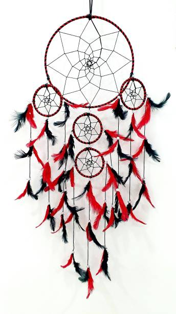 BS AMOR Dream Catcher | Wall Hangings | Home Decor, Handmade |Bedroom,Party ,Festival Feather Dream Catcher