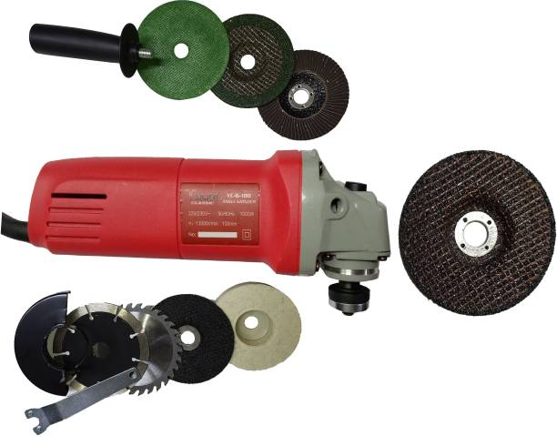 INDITRUST 1000W ANGLE GRINDER 4 INCH WITH ACCESSORIES Angle Grinder Angle Grinder