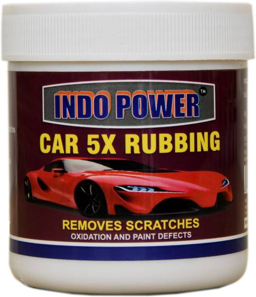 INDOPOWER CAR 5X RUBBING POLISH 250GM. Car Washing Liquid