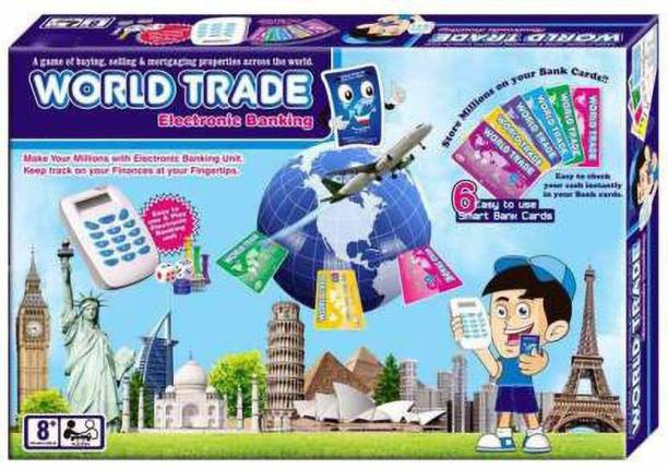 atul gift& toys world trade electronic banking game Party & Fun Games Board Game