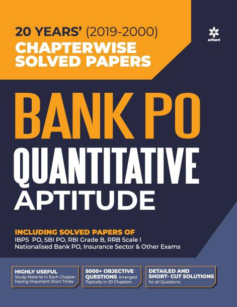Bank Po Solved Papers Quantitave Aptitude 2020