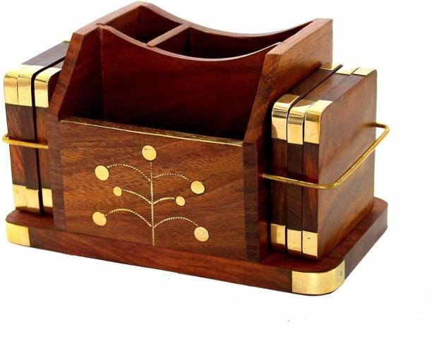 nature crafts Rectangle Wood Coaster