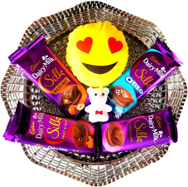 Cadbury Special Basket For Silk Lovers Combo