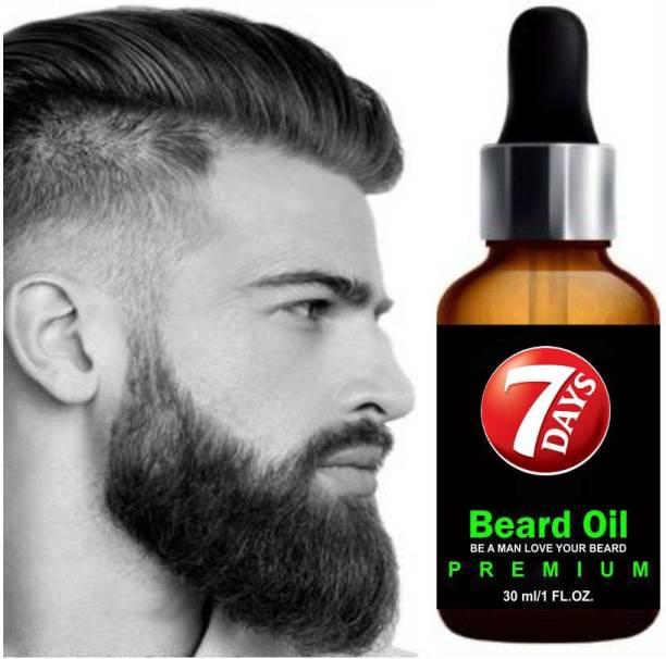 7 Days Faster Beard Oil Hair Oil
