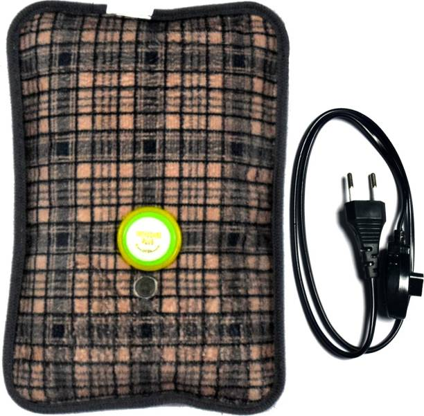 CureNext Electric Quick Warming High Quality Velvet Electrical 1 L Hot Water Bag