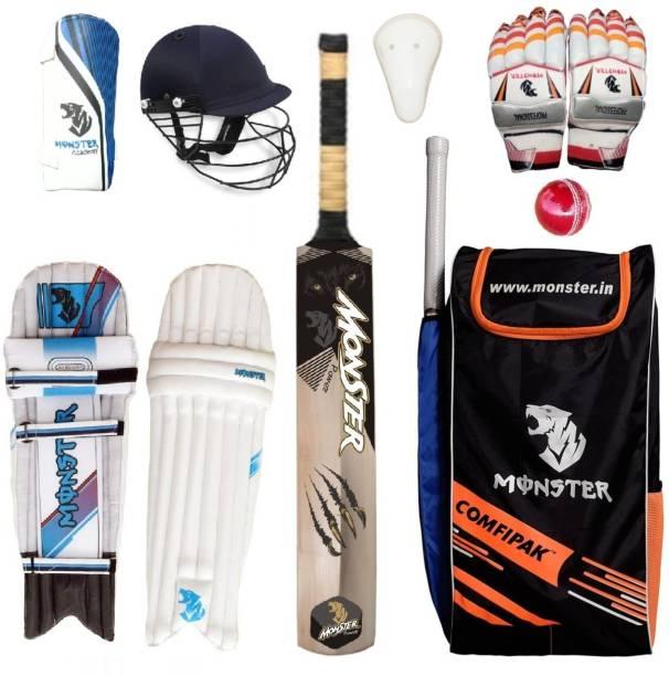 Monster COMFIPAK POWER Full Size Complete Cricket Cricket Kit