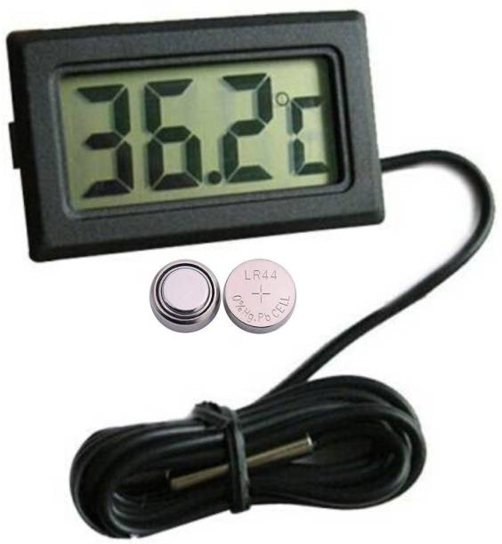 Mexico Mini LCD Portable Pocket LCD Electronic Temperature Meter Thermometer with Fork Kitchen Thermometer