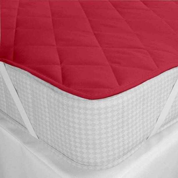 LERV'S Collection Elastic Strap King Size Waterproof Mattress Protector