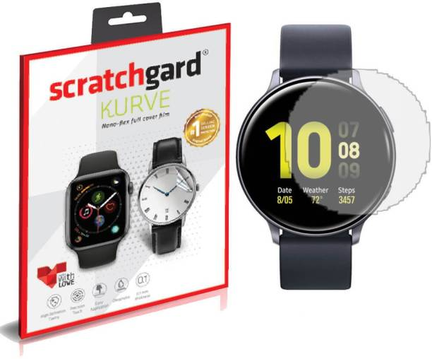 Scratchgard Impossible Screen Guard for Samsung Galaxy Watch Active2 44mm, Flexible Film