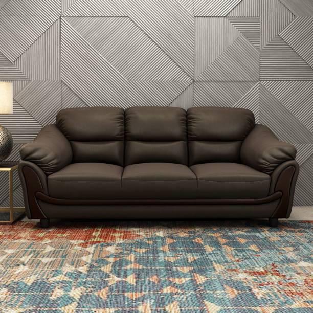 Durian LAKEWOOD/3STR Leatherette 3 Seater  Sofa