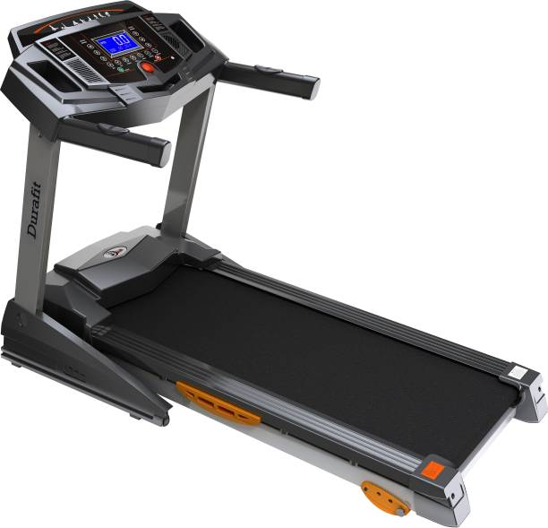 Durafit Strong 2 HP (Peak 4 HP) with Manual Incline Motorized Foldable Treadmill