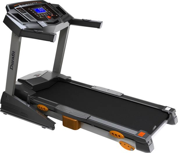Durafit Heavy 2.5 HP (Peak 5.0 HP) Motorized Foldable Treadmill Treadmill
