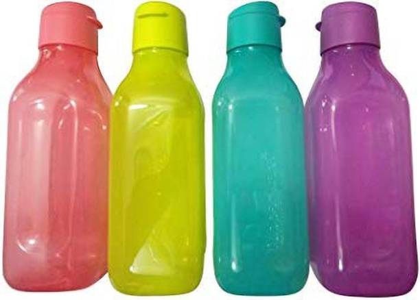 TUPPERWARE Square Fliptop 1 Litre Water Bottle 4000 ml Bottle