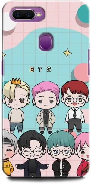 BARMANS Back Cover for Oppo A5s / BTS, bts, BTS army, BTS Love, bts singers, korean