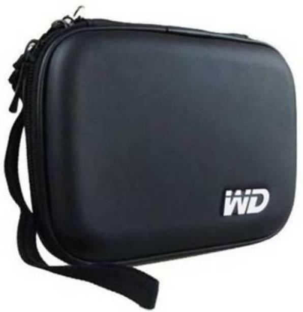 viaxos Pouch for Back Cover for Seagate, Toshiba, WD, Sony, Transcend, Lenovo, ADATA