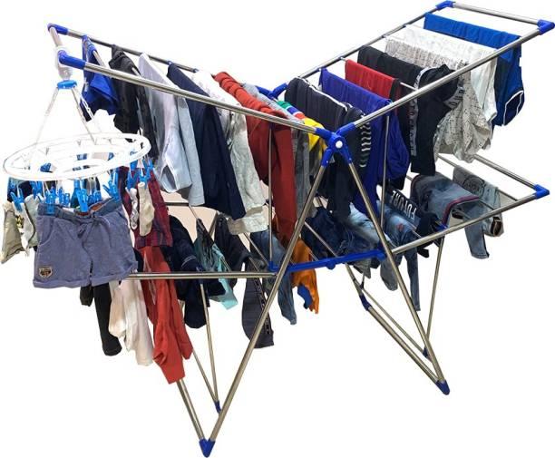 TNC Steel Floor Cloth Dryer Stand BB2-0003