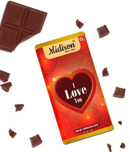 Midiron I Love You Bar for Valentine Day Bars