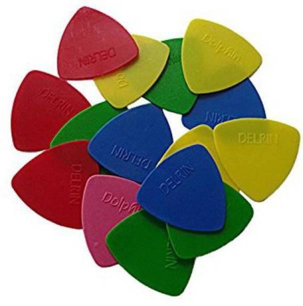 SG MUSICAL SGM-UI4 Multicolor Plectrum(Pack 20) Guitar Pick