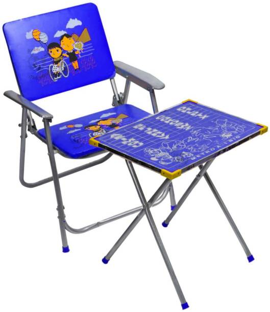 Avani MetroBuzz New kids table Chair for study Blue Solid wood Desk Chair