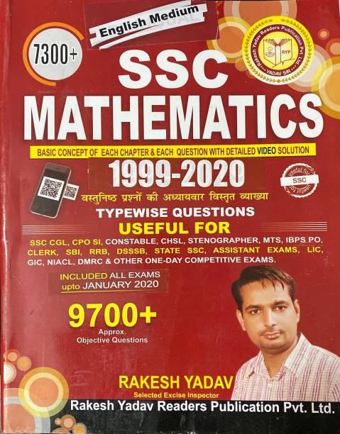 Rakesh Yadav SSC Mathematics 7300+( 1999- 2020) ENGLISH MEDIUM