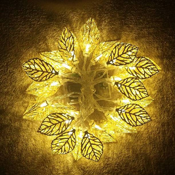 TIED RIBBONS 135 inch Gold Rice Lights