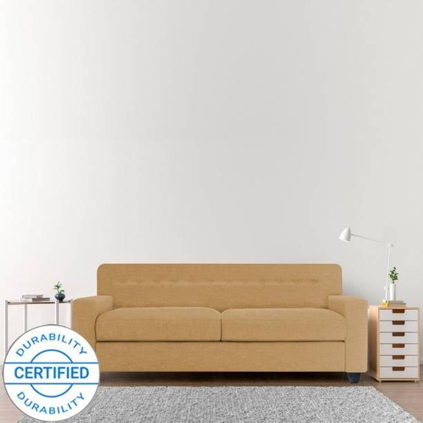 Adorn Homez Solitaire Fabric 2 Seater  Sofa