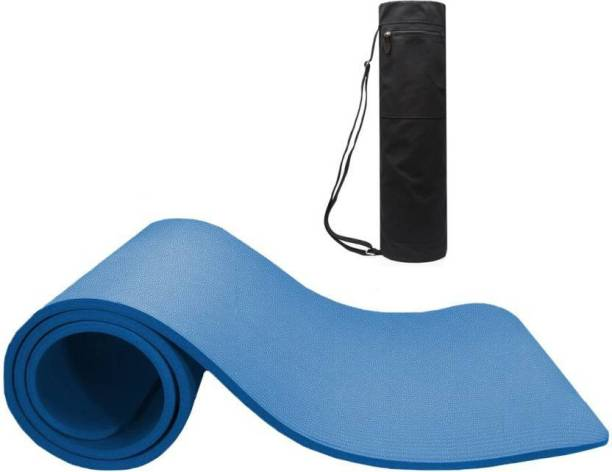Nova Premium 100% EVA Eco Friendly Non Slip With Bag Blue 6 mm Yoga Mat