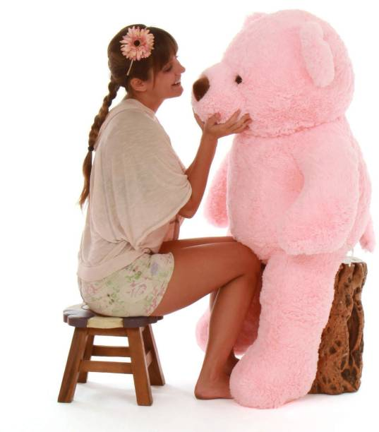 Mrbear Cute Bootsy pink 90 Cm 3 feet For Someone Special Teddy Bear - 90 cm  - 90.03 cm