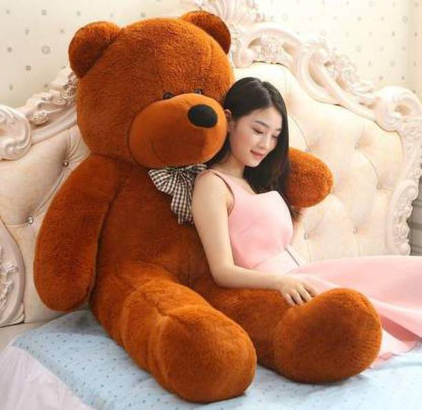 ManoJ Enterprises 2 feet soft cute sparkling illustrious faboulous awosome fantastic Brown teddy bear 24inch 60cm  - 24 inch